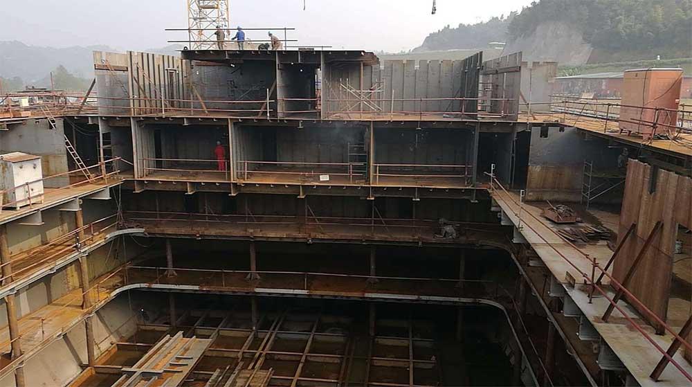 Titanic replica nears completion at Romandisea theme park China