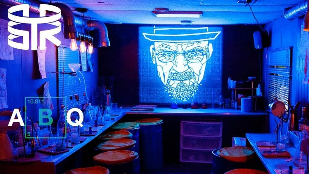 ABQ breaking bad themed eating eatertainment F&B experience