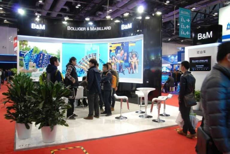 China Attractions Expo booth