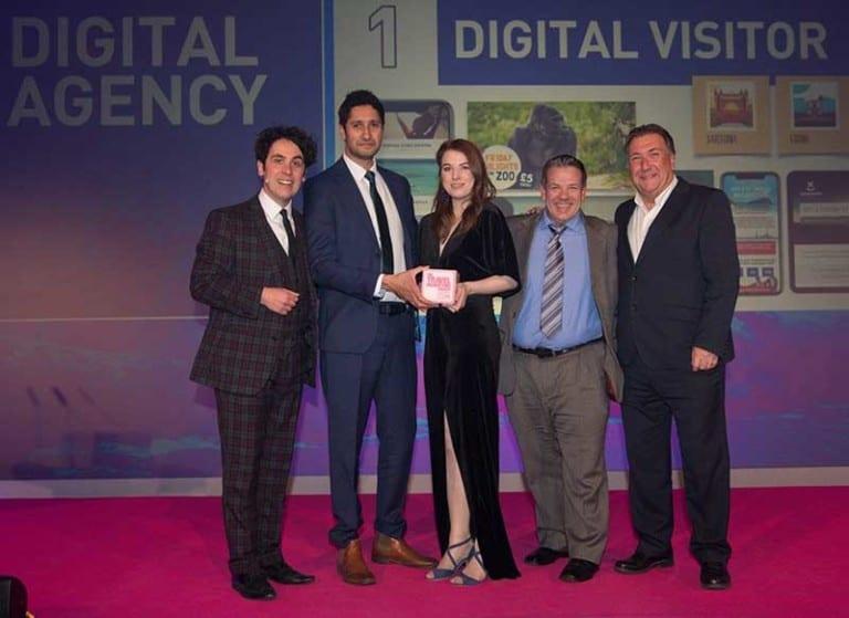 Digital Visitor wins 'Best Digital Agency' at the Travel Marketing Awards