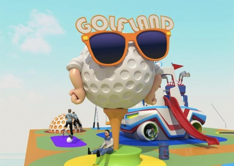Golf-themed-playground-by-Futura-Form-1