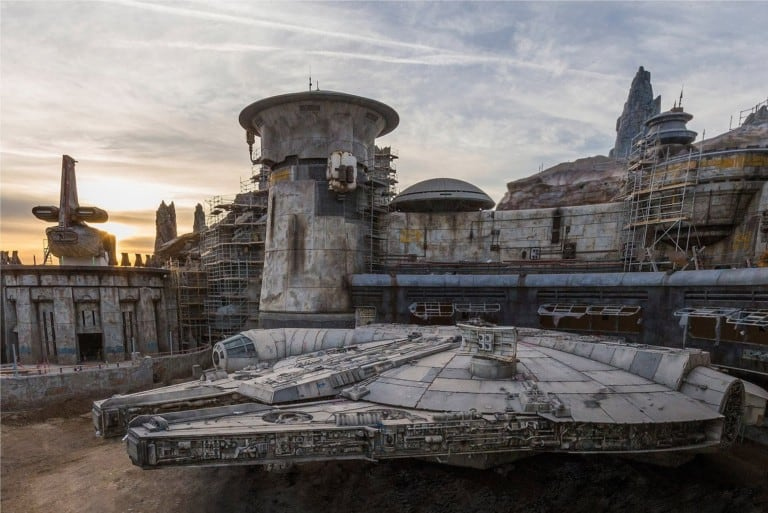 Galaxy's Edge interactive experiences Millennium Falcon- Smugglers Run star wars galaxys edge disney