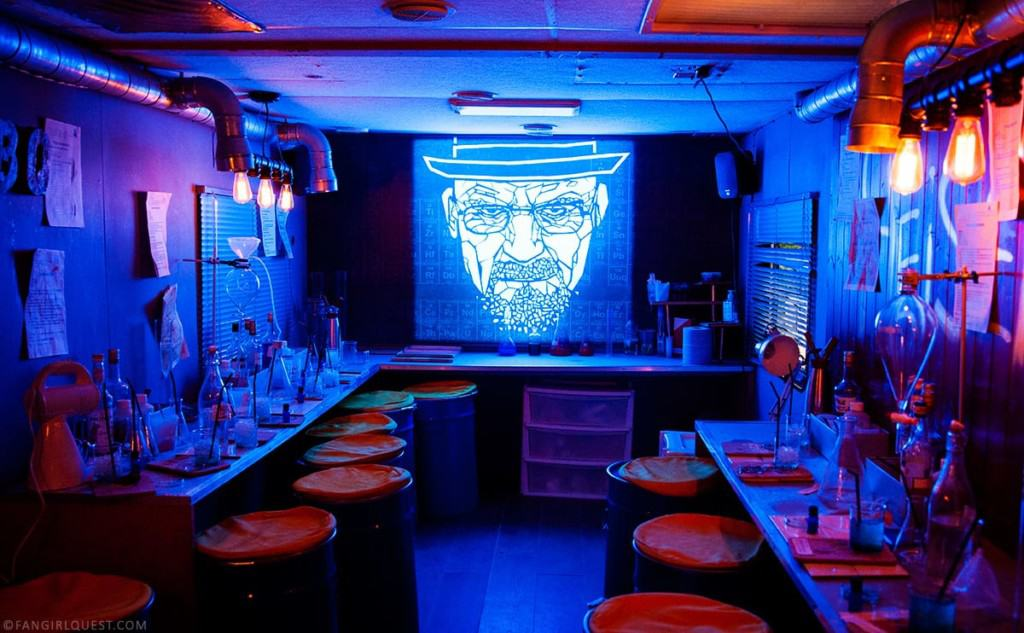 abq breaking bad themed bar eatertainment themed drinks
