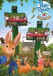 Alton Towers announce Peter Rabbit ride for CBeebies Land