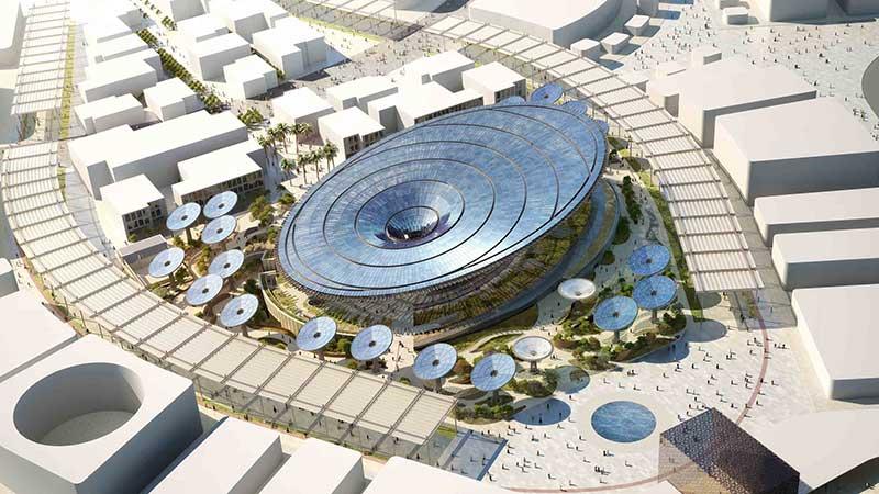 Ahmed Al Khatib says the Sustainabiliy Pavilion is Platinum LEED certified