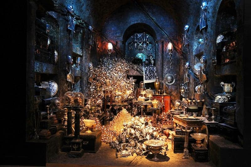 harry potter gringotts bank wizarding world