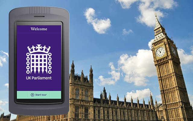 Imagineear houses of parliament tour