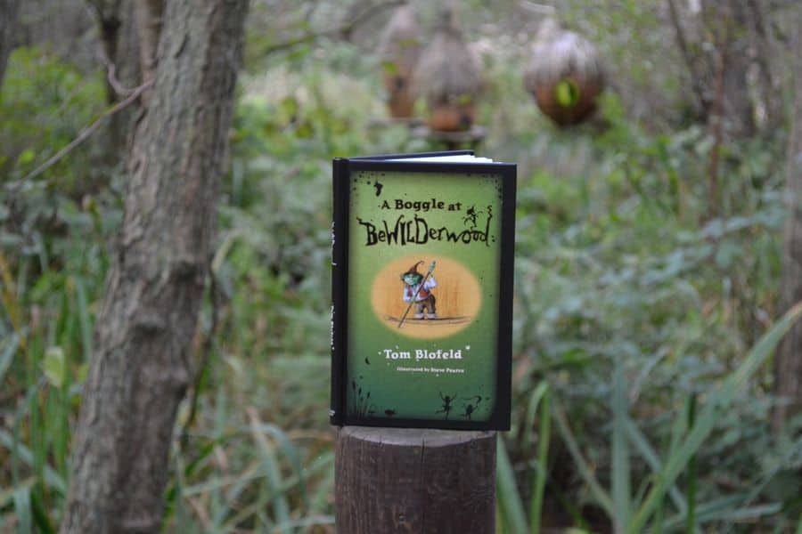 A Boggle at BeWILDerwood book by Tom Blofeld