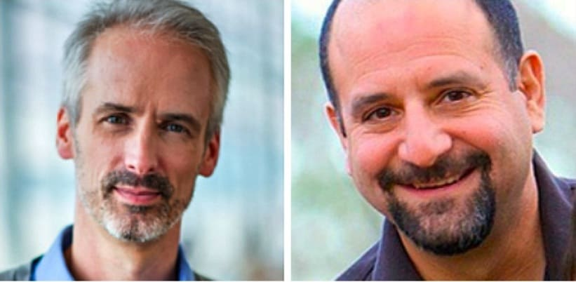 Arrival co-founders CEO Douglas Quinby, COO Bruce Rosard,
