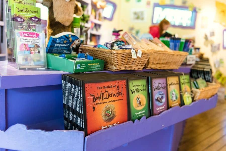 BeWILDerwood books at gift shop