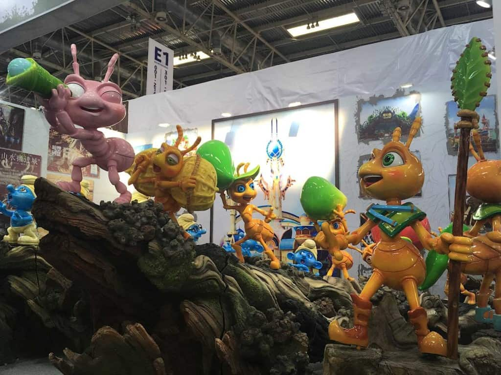 CAE Beijing 2019 Ants from A Bug's Life