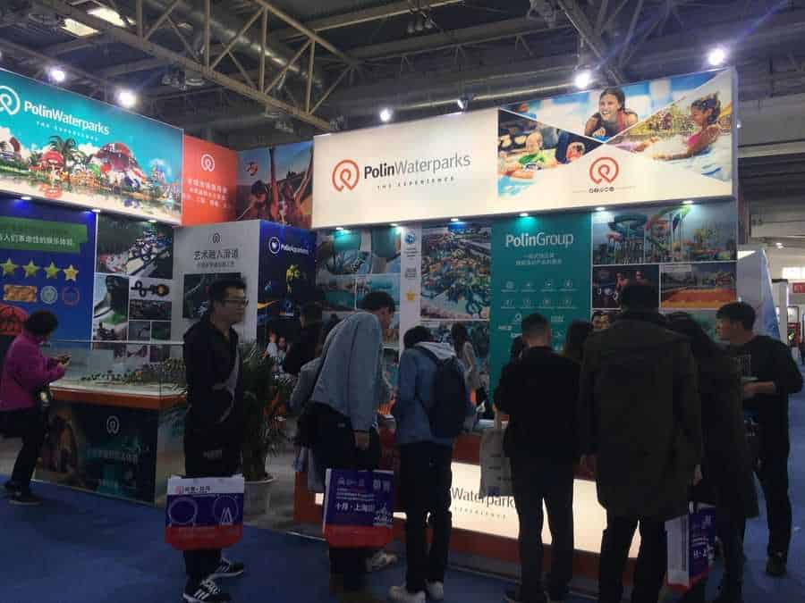 CAE Beijing 2019 Polin Waterparks booth