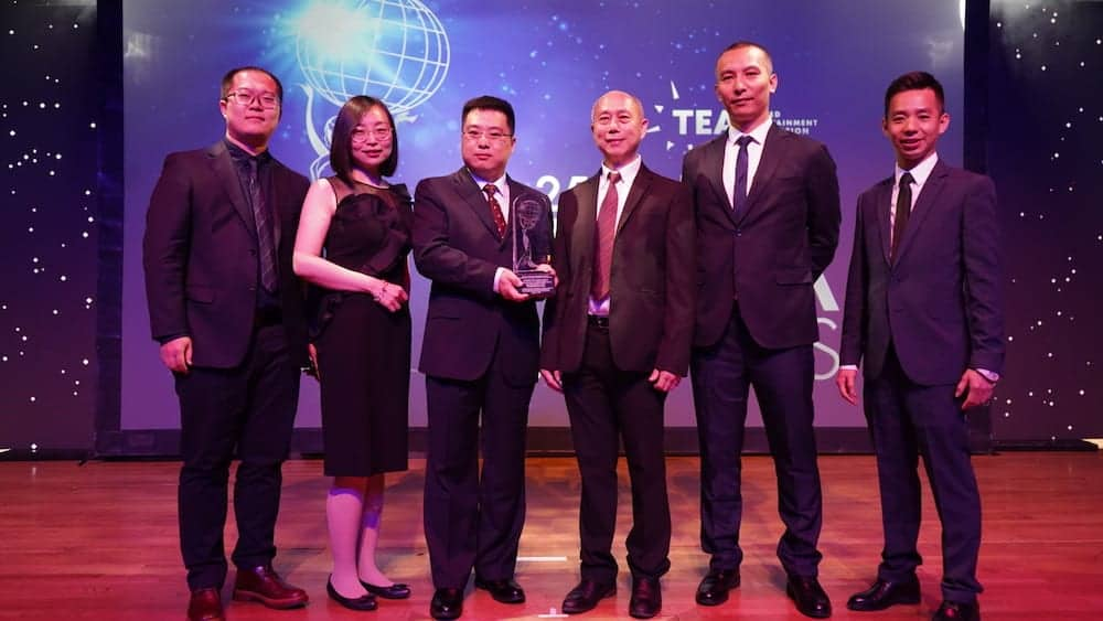 Huaxia Cultural Tourism Group and ACE at the Thea Awards