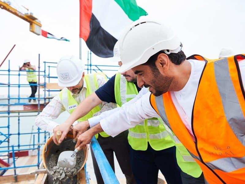 Mohamed Abdalla Al Zaabi Yas Bay construction