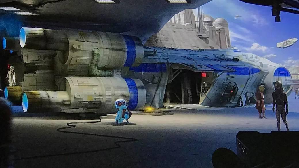 Resistance Intersystem Transport Ship star wars galaxys edge starships