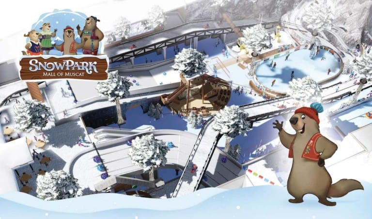 Snowpark Mall of Muscat Unlimited Leisure