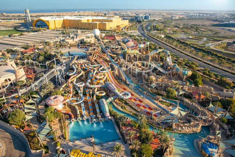 Yas Waterworld and Warner Bros World Abu Dhabi overview