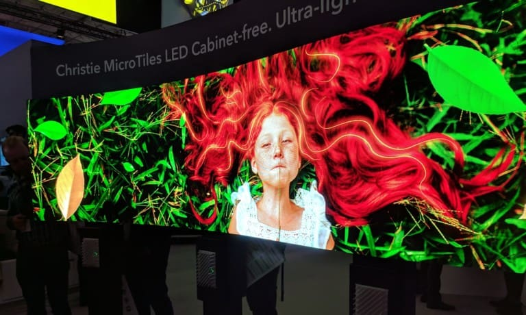 christie microtiles emerging technologies for attractions