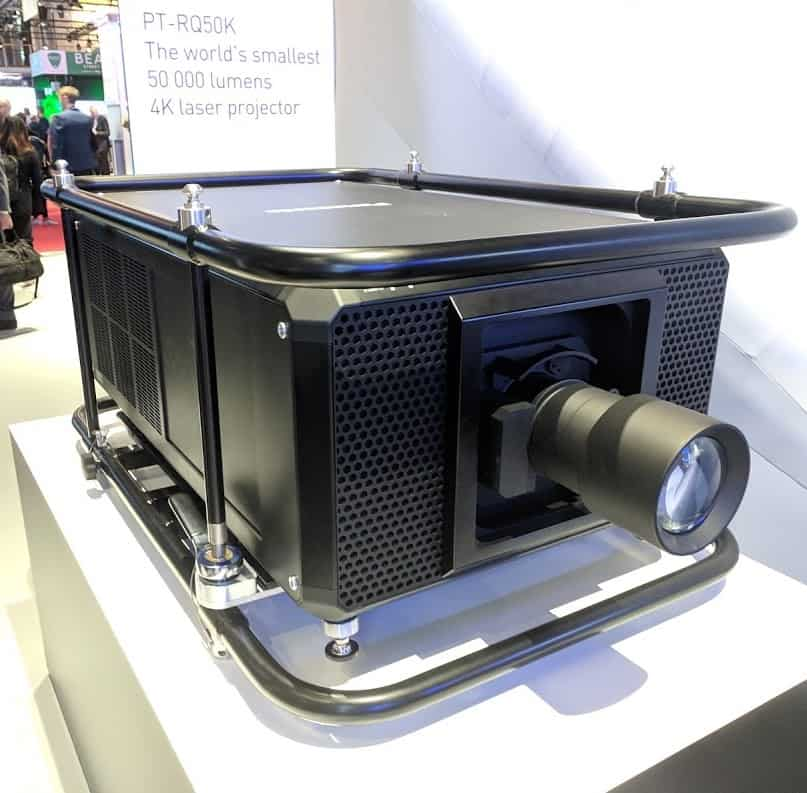 panasonic 4k projector 50000 lumens ise 2019 emerging technologies for attractions