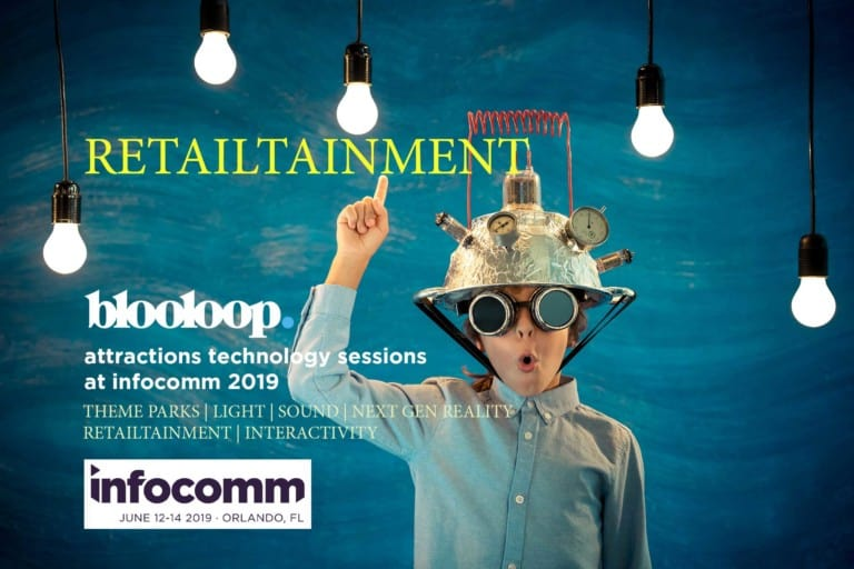 infocomm blooloop attractions technology retailtainment
