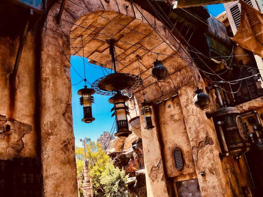 Lanterns at Black Spire Outpost blooloop