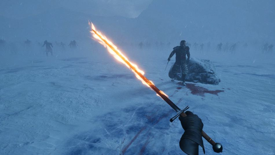 Framestore-Game-of-Thrones-VR-experience-Beyond-The-Wall-flaming-sword-fighting