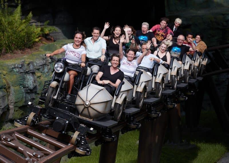 Hogsmeade Hagrid's Magical Creatures Motorbike Adventure, story coaster