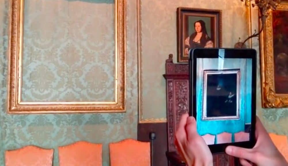 museum AR hacking the hiest