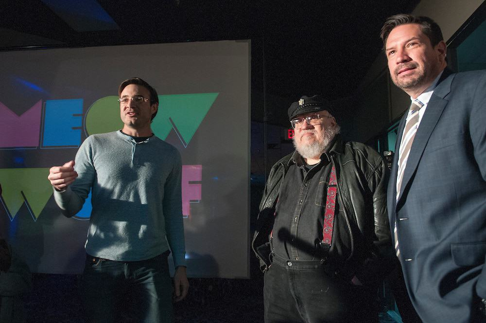 george rr martin meow wolf
