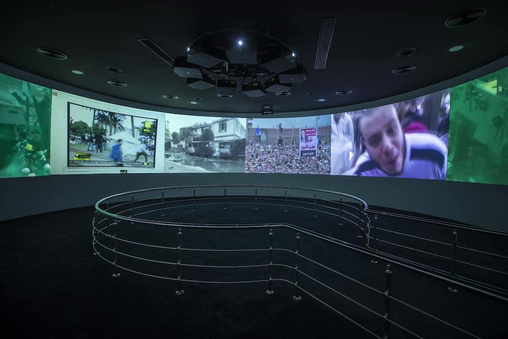 Christie projectors 6th October Museum Cairo