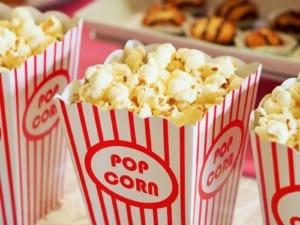Popcorn cinema stock pic Barco