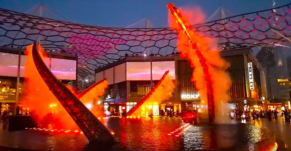 City Walk Meraas Dubai Blooloop Middle East attractions cutting edge technology