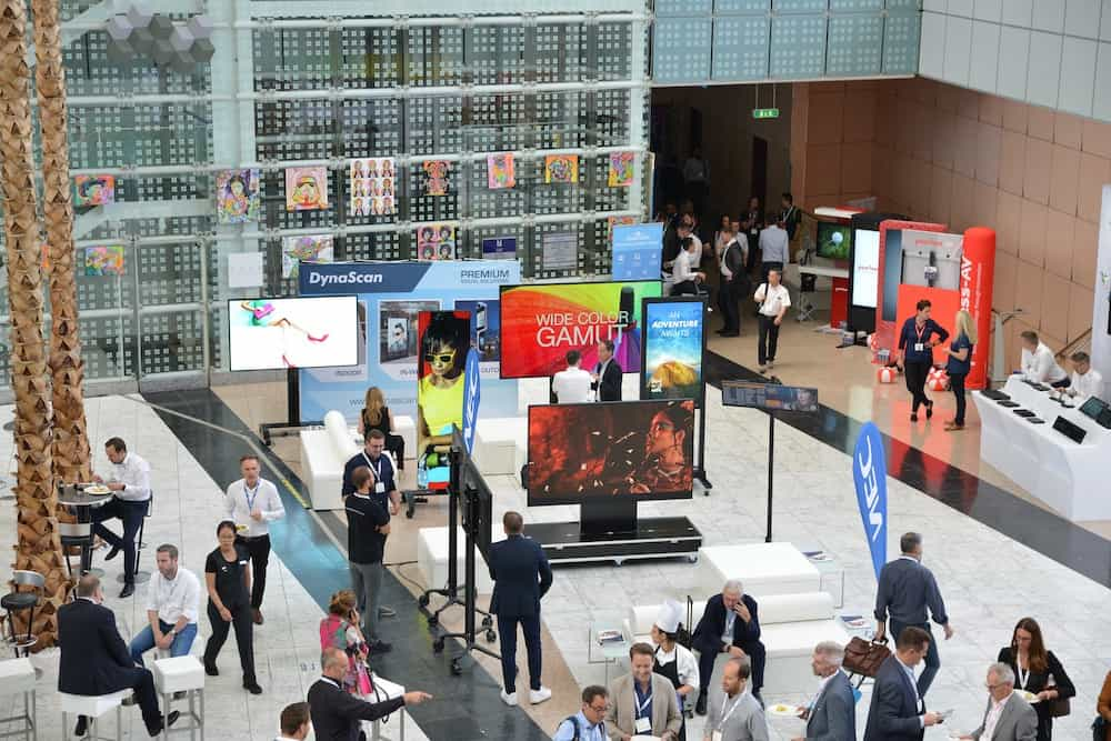 DSS Europe 2019 ISE trade show floor