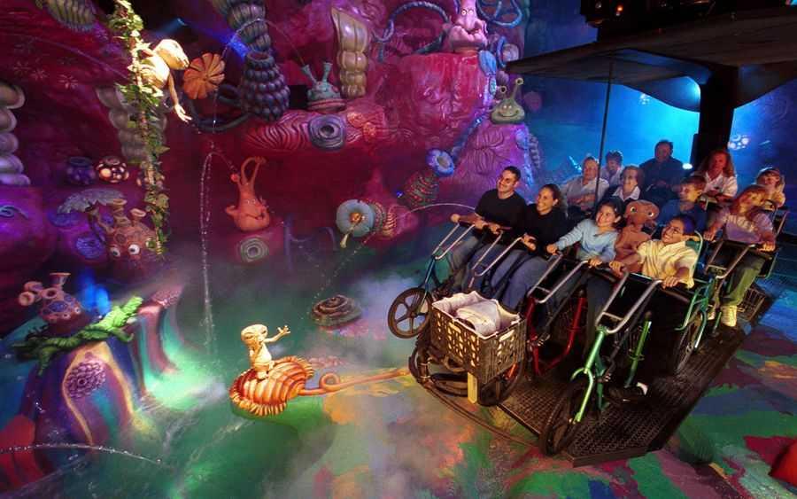 E.T. Adventure Universal Studios Florida; destroy to create