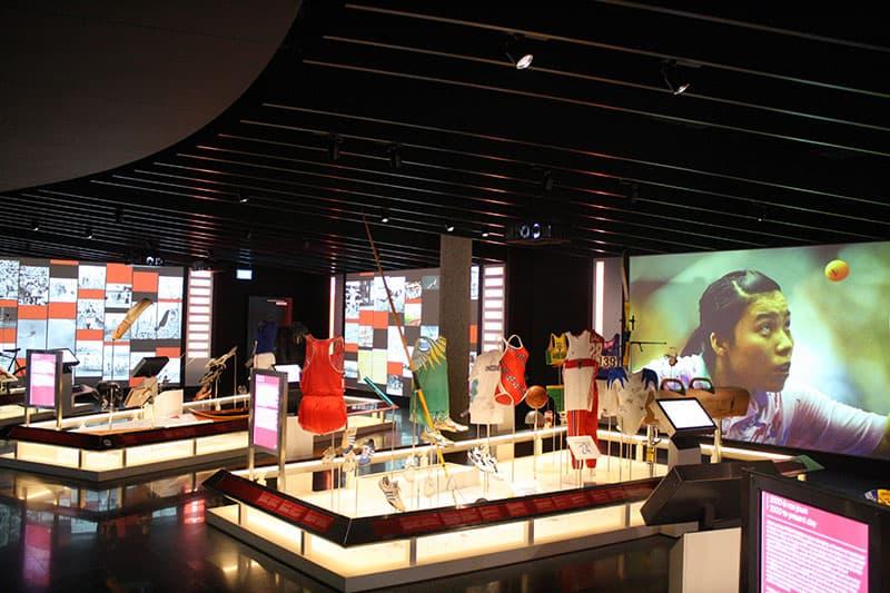Olympic Museum exhibit-av by electrosonic blooloop
