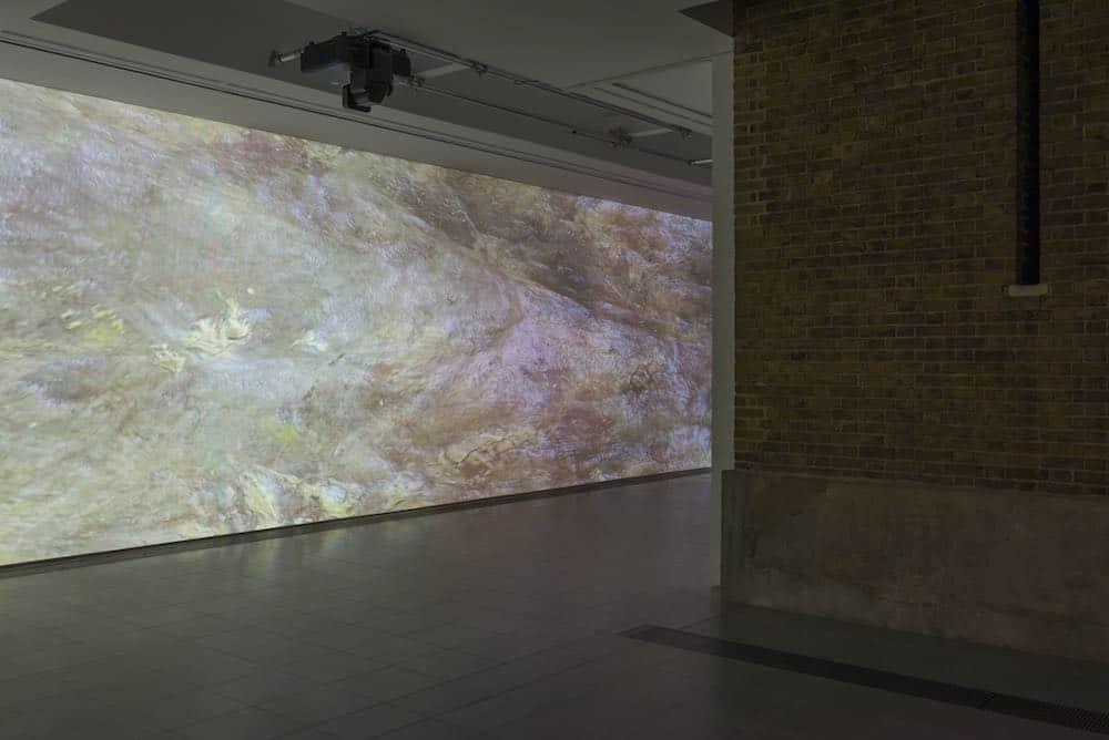 Serpentine Sackler Gallery EPSON Projection