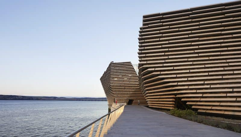 V&A Dundee building exterior, blooloop