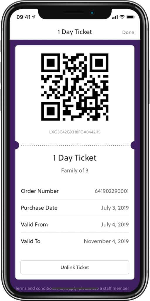attractions.io paultons park in-app ticketing