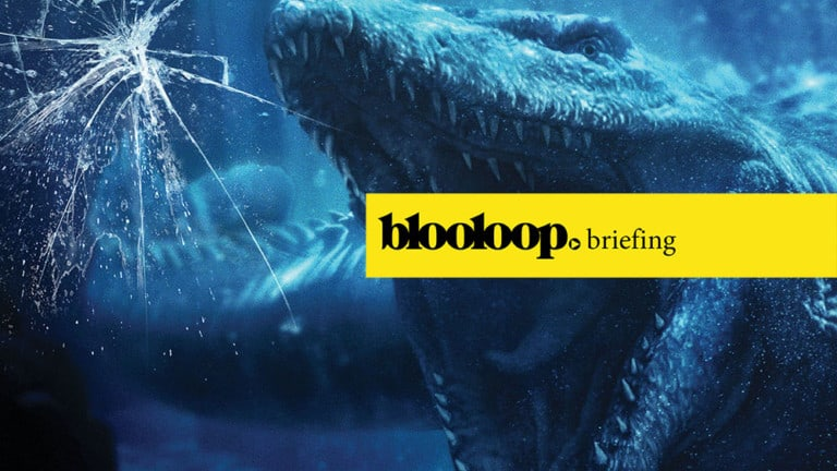 attractions news blooloop briefing jurassic world the ride universal mosasaur