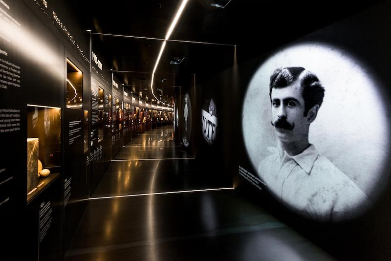 christie projector at museum athletic bilbao