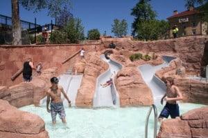 Cloward h2o shoshone chutes glenwood hot springs