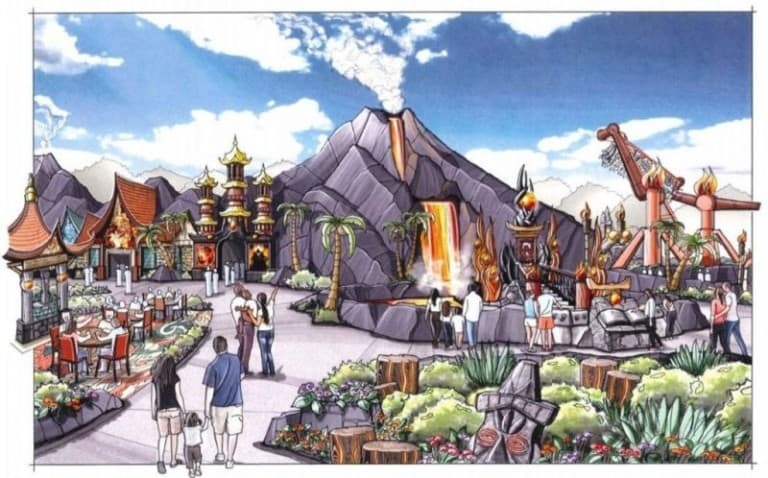lost island themepark expansion