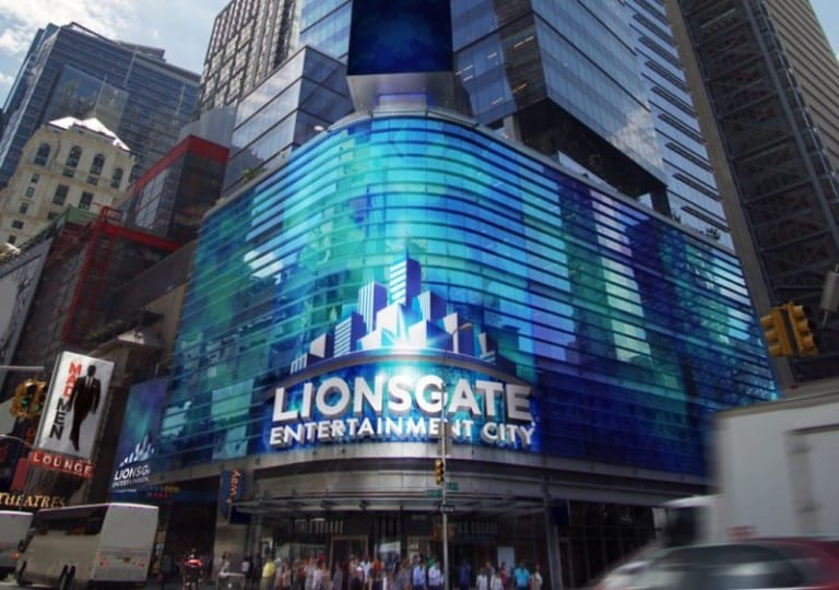 times square new york lionsgate
