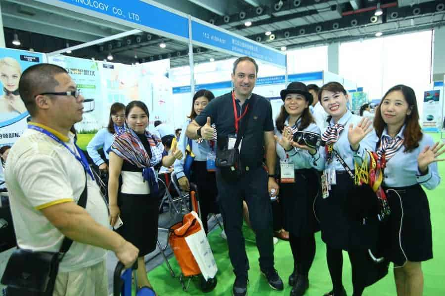 AAA 2019 Attendee with exhibitors