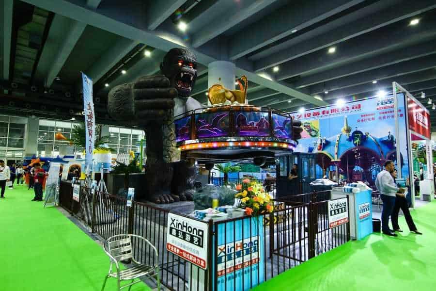 AAA 2019 King Kong ride