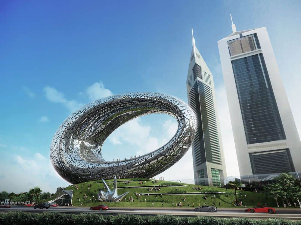 Dubai's Museum of the Future: Lath Carlson on technology, climate change and neutrality