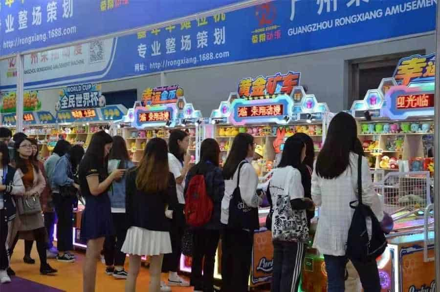 Games and Amusement Fair 2018 Attendees on Coin Op Games