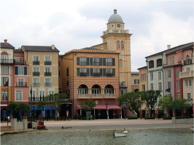Lexington Companies of Nassal Resorts LOEWS Portofino Bay Hotel