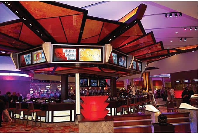 Lexington Harrah's Cherokee Casino bar gaming