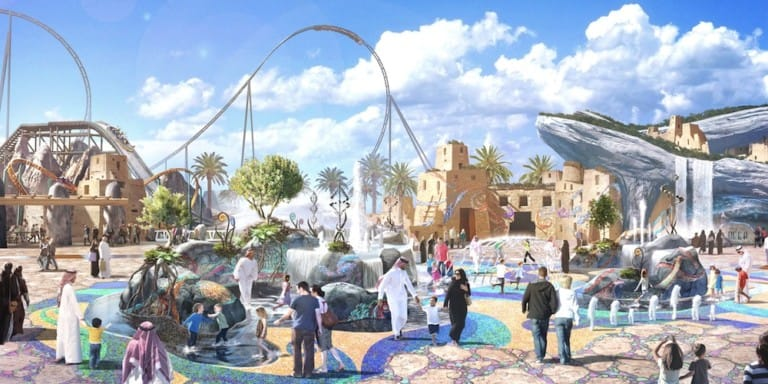 Discovery Springs at Six Flags Qiddiya